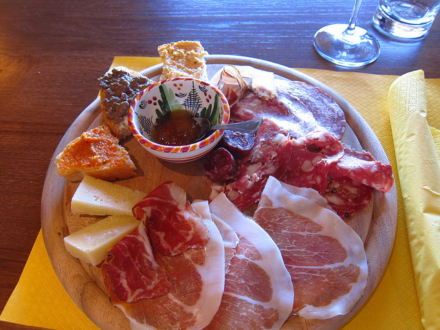 Local Maremma Foods at Santa Lucia