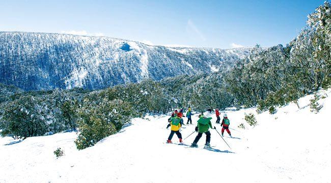 Winter Activities in Falls Creek, Australia