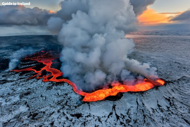 The Volcanoes of Iceland