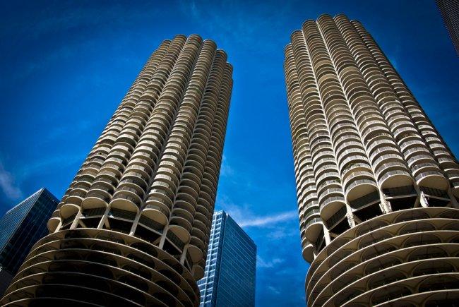 Marina City towers