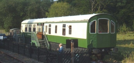 Camping Coach, near Levisham Station Self catering holiday accommodation on the NYMR.